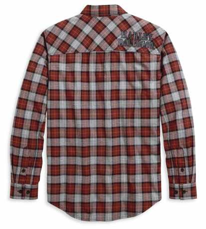 H-D Motorclothes Harley-Davidson Shoulder Graphic Plaid Shirt  - 96113-20VM