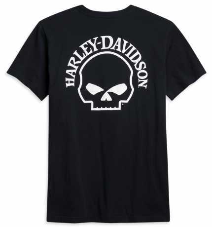 H-D Motorclothes Harley-Davidson T-Shirt Skull Pocket schwarz  - 96275-21VM