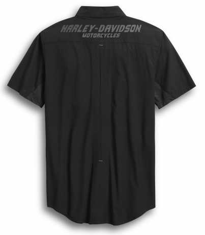 H-D Motorclothes Harley-Davidson Kurzarmhemd 03 schwarz  - 96370-20VM