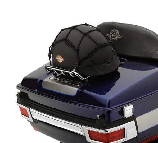 Harley-Davidson Gepäcknetz 30 x 30 cm, 4 Haken, schwarz  - 97008-07