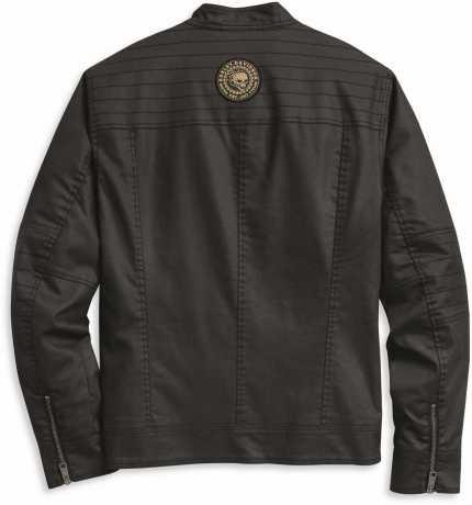 H-D Motorclothes Harley-Davidson Shirt Jacket Flaming Skull Patch Denim  - 97400-20VM