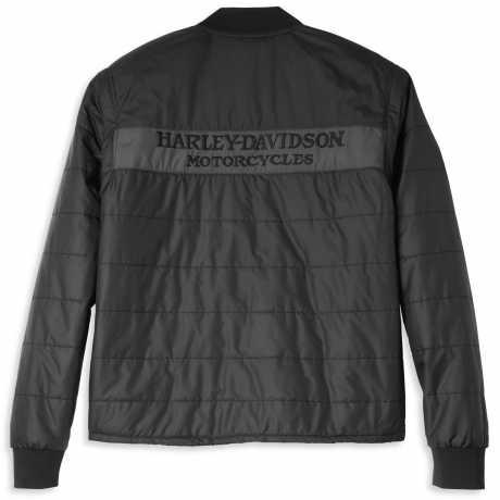 H-D Motorclothes Harley-Davidson Convertible Jacke/Weste Quilted schwarz  - 97400-22VM