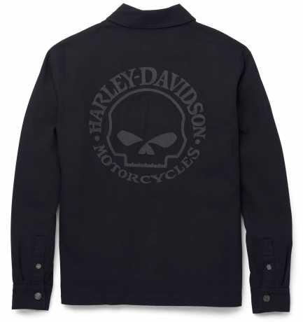H-D Motorclothes Harley-Davidson Men's Casual Jacket Willie G Skull black  - 97401-22VM