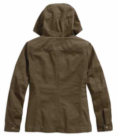 H-D Motorclothes Women's Over-Dyed Hooded Jacket  - 97478-19VW