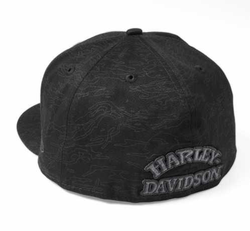 H-D Motorclothes Harley-Davidson Flat Cap Skull Camo 59FIFTY schwarz  - 97600-22VM