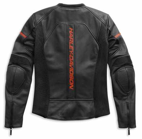 H-D Motorclothes Harley-Davidson Damen Leather Jacket Brawler black  - 98007-21EW