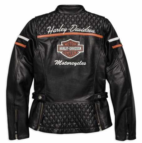 H-D Motorclothes Harley-Davidson Leather Jacket Miss Enthusiast  CE L - 98030-18EW/000L
