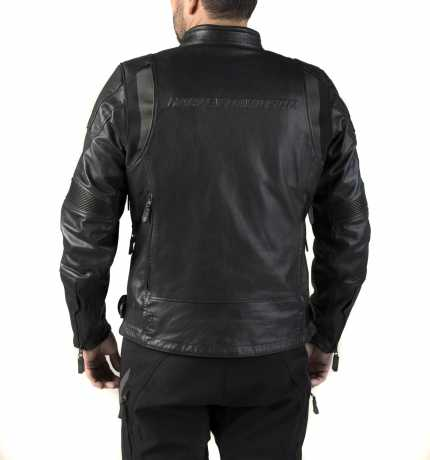 H-D Motorclothes Harley-Davidson Leather Jacket FXRG Triple Vent Waterproof L - 98038-19EM/000L
