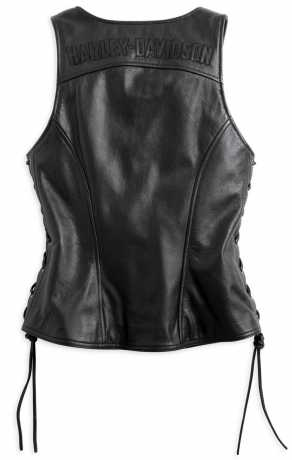 H-D Motorclothes Harley-Davidson Avenue Leather Vest XL - 98071-14VW/002L