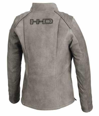 H-D Motorclothes Harley-Davidson Damen Lederjacke Citified grau  - 98074-19EW