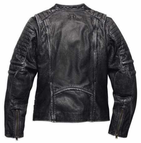 98116 16vw harley davidson women 39 s washed leather biker jacket at thunderbike shop. Black Bedroom Furniture Sets. Home Design Ideas