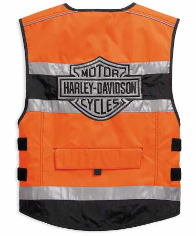 H-D Motorclothes Harley-Davidson Weste Hi-Visibility Reflective orange  - 98157-18EM