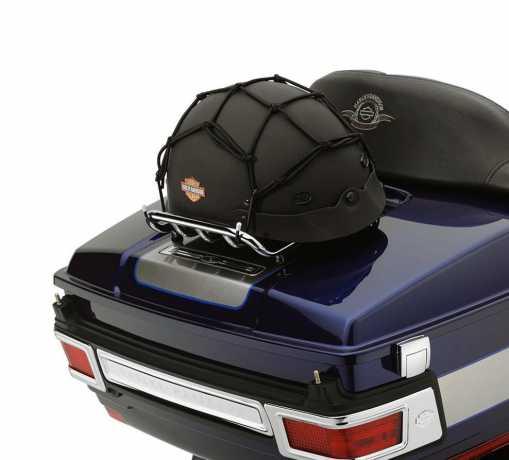 "Harley-Davidson Cargo Net 15"" x 15"" 6 hook, black  - 98170-88T"
