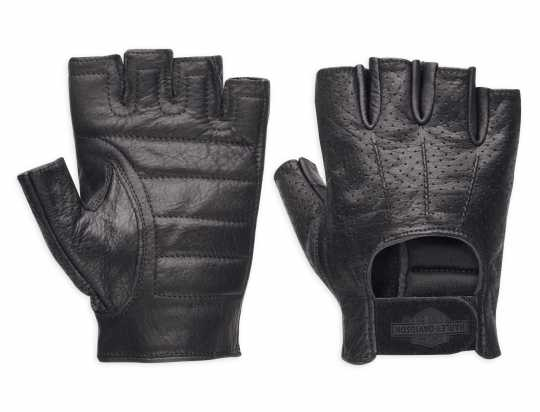 H-D Motorclothes H-D Perforated Fingerless Gloves  - 98182-99VM