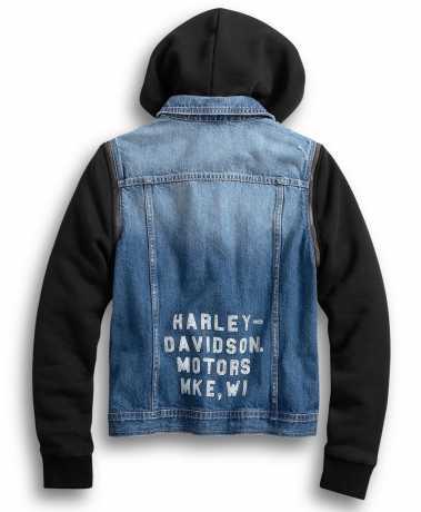 H-D Motorclothes Harley-Davidson Women's Zip-Off Sleeve Denim Jacket  - 98402-20VW