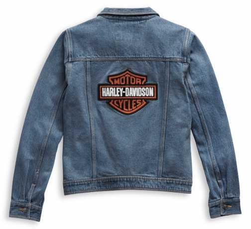 H-D Motorclothes Harley-Davidson Damen Jeansjacke Bar & Shield blau  - 98405-21VW
