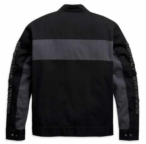 H-D Motorclothes Harley-Davidson Canvas Jacket Colorblock black/grey  - 98406-20VM