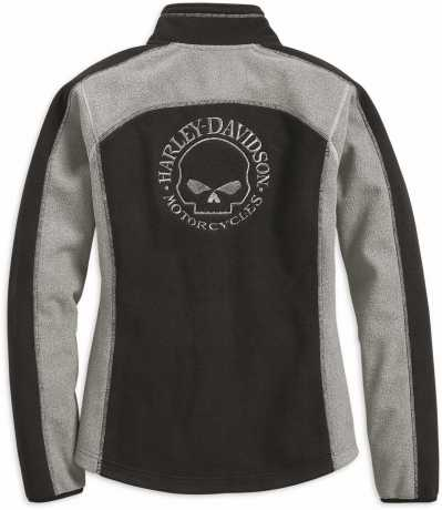 H-D Motorclothes Harley-Davidson Damen Fleecejacke Skull, winddicht  - 98407-19VW
