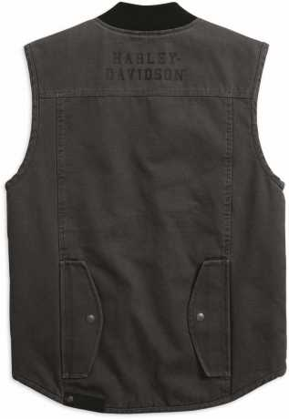 H-D Motorclothes Harley-Davidson Vest Workwear Quilted grey M - 98416-19VM/000M