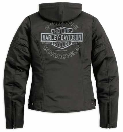 H-D Motorclothes Harley-Davidson Miss Enthusiast 3-in-1 Outerwear Jacke, schwarz L - 98519-12VW/000L