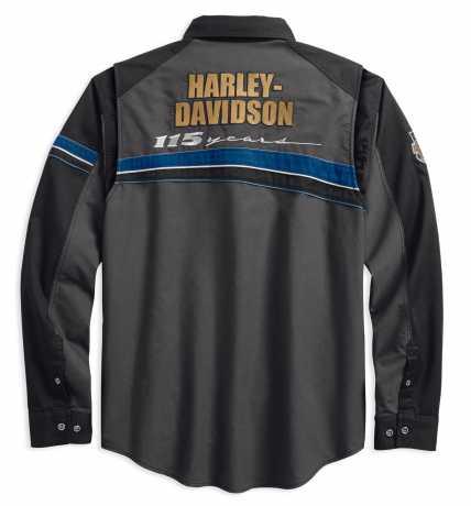 H-D Motorclothes Harley-Davidson Hemd 115th Performance Stripe  - 99008-18VM