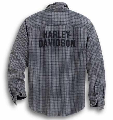 H-D Motorclothes Harley-Davidson Shirt H-D Plaid grey  - 99008-20VM