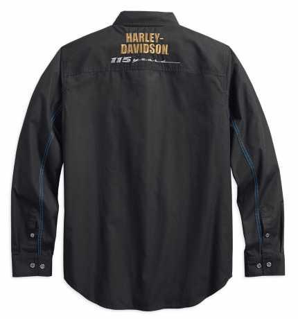 H-D Motorclothes Harley-Davidson Hemd 115th Ripstop, schwarz  - 99009-18VM