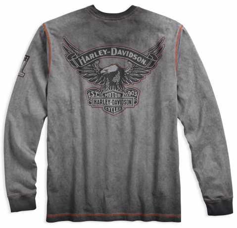 H-D Motorclothes Harley-Davidson Longsleeve Iron Block XL - 99010-17VM/002L