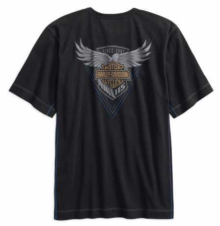 H-D Motorclothes Harley-Davidson Henley T-Shirt 115th Anniversary  - 99014-18VM