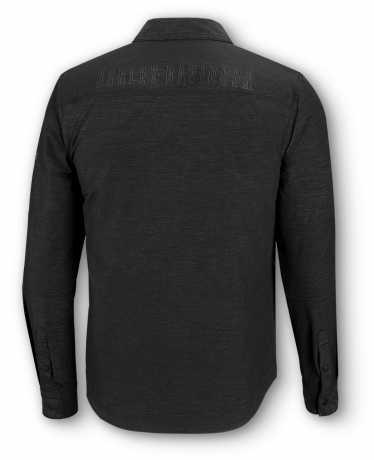 H-D Motorclothes Harley-Davidson Zip Shirt Stretch black  - 99014-20VM