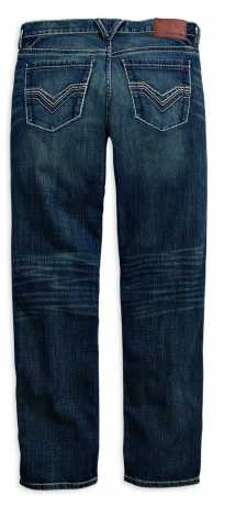 H-D Motorclothes Harley-Davidson Jeans Straight Leg Fit Modern, indigo 40 | 30 - 99030-16VM/4030