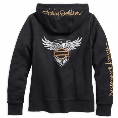 H-D Motorclothes Harley-Davidson Damen Zip Hoodie 115th Anniversary  - 99034-18VW