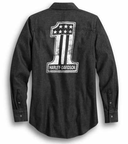H-D Motorclothes Harley-Davidson women´s Shirt #1 Denim black  - 99035-20VW