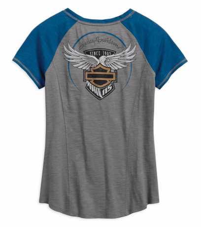 H-D Motorclothes Harley-Davidson Damen Henley Shirt 115th Anniversary  - 99042-18VW
