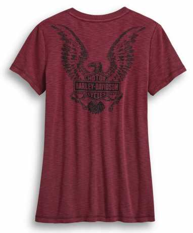 H-D Motorclothes Harley-Davidson women´s T-Shirt Freedom Laced red  - 99045-20VW