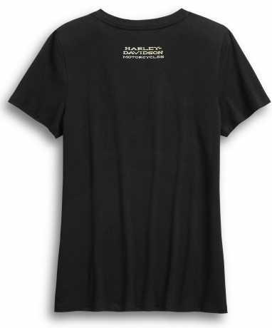 H-D Motorclothes Harley-Davidson women´s T-Shirt Ride Free black  - 99046-20VW