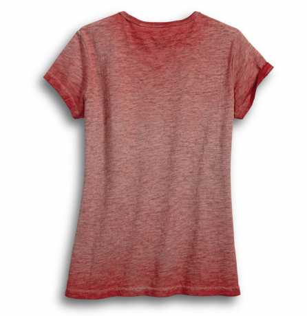 H-D Motorclothes Harley-Davidson Women's Jersey Applique Tee, red  - 99051-18VW