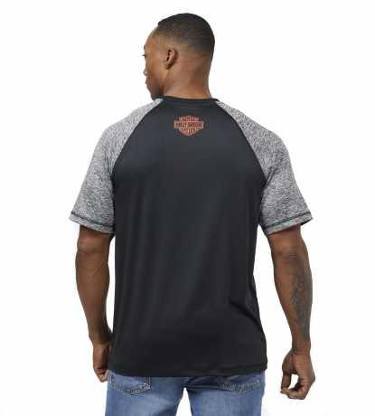 H-D Motorclothes Harley-Davidson T-Shirt  Performance Colorblock Wicking M - 99063-21VM/000M