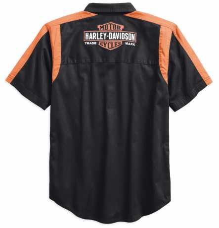 H-D Motorclothes Harley-Davidson Kurzarmhemd Genuine Oil Can Colorblock XL - 99066-18VM/002L