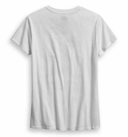 H-D Motorclothes Women's Sketchy #1 Skull Tee white  - 99086-18VW