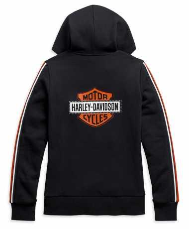 H-D Motorclothes Harley-Davidson women´s Zip Hoodie Sleeve Stripe  - 99111-20VW