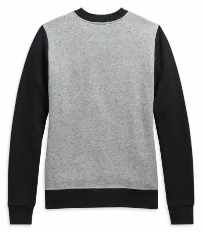 H-D Motorclothes Harley-Davidson women´s Sweatshirt Colorblock black/grey  - 99119-20VW
