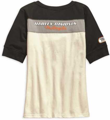 H-D Motorclothes Harley-Davidson Women's Racing Short Sleeve Henley 2W - 99136-19VW/002W