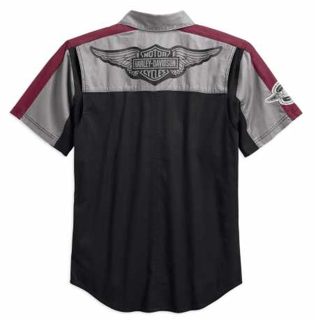 H-D Motorclothes Harley-Davidson Kurzarmhemd Performance Vented Winged  - 99156-19VM