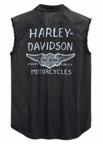 H-D Motorclothes Harley-Davidson Blowout Shirt Winged black S - 99157-19VM/000S