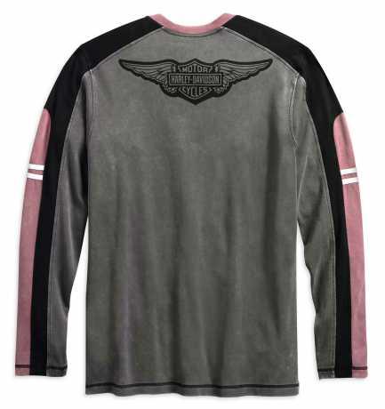 H-D Motorclothes Harley-Davidson Longsleeve Asphalt Colorblock  - 99159-19VM