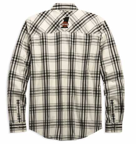 H-D Motorclothes Harley-Davidson Racing Long Sleeve Plaid Shirt extra lang  - 99162-19VT