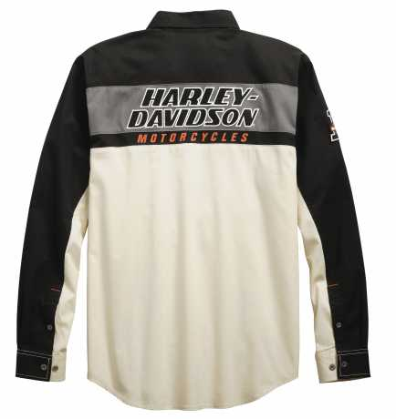 H-D Motorclothes Men's H-D Racing Long Sleeve Shirt 3XL - 99163-19VM/222L