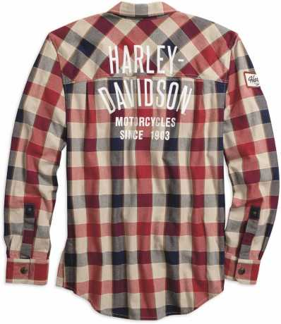 H-D Motorclothes Harley-Davidson Shirtjacket #1 Plaid Zip  - 99194-19VM