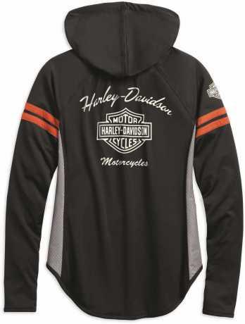 H-D Motorclothes Harley-Davidson Women's Zip Hoodie Performance Mesh XL - 99242-19VW/002L